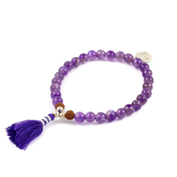 oh bali Intuition Armband Amethyst