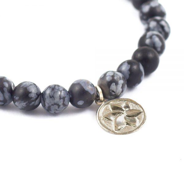 ohbali Armband Obsidian