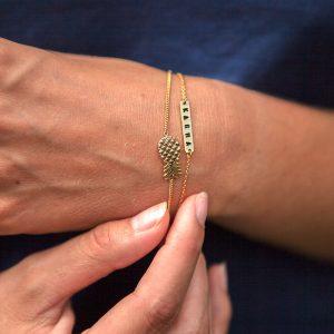 ohbali Armband Karma gold