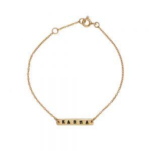 ohbali Armband Karma gold web