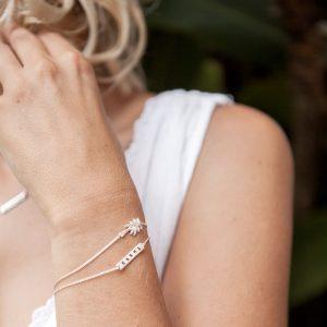 Armband Karma silber