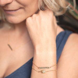 Armband Namaste gold