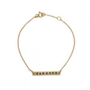ohbali Armband Namaste gold web3