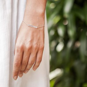 ohbali Armband Namaste silber