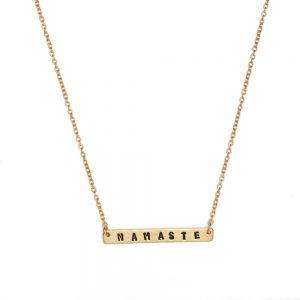Kette Namaste gold