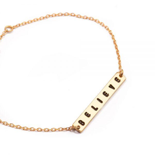 ohbali armband believe gold web2