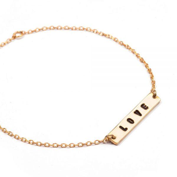 ohbali armband love gold web2