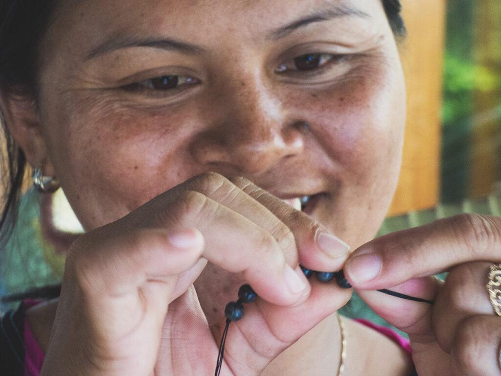 ohbali Mala Beads Herstellung